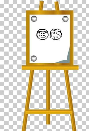 Table Easel Drawing Board PNG