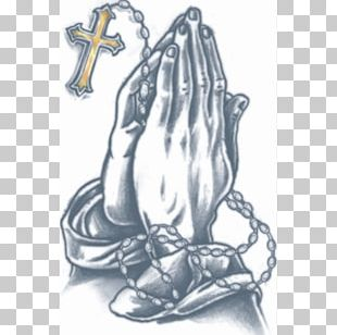 Praying Hands Abziehtattoo Prison Tattooing Body Art PNG