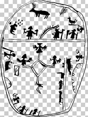 Nærøy Manuscript Sami Drum Sami People Snåsa PNG