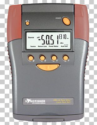 Optics Optical Fiber Return Loss Measurement Measuring Instrument PNG