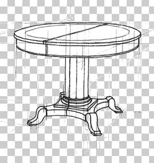 Table Drawing Line Art Sketch PNG
