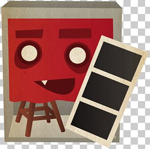 Square Red Table PNG