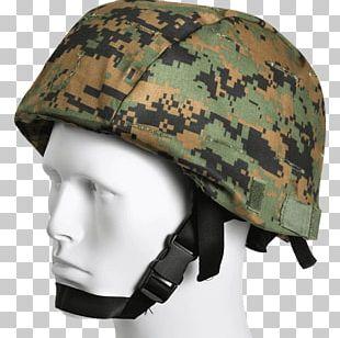 Helmet Cover Modular Integrated Communications Helmet U.S. Woodland Military Camouflage Army Combat Uniform PNG