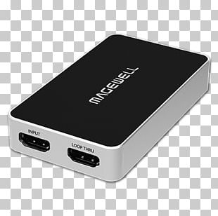 Video Capture Magewell XI100DUSB-HDMI Serial Digital Interface PNG