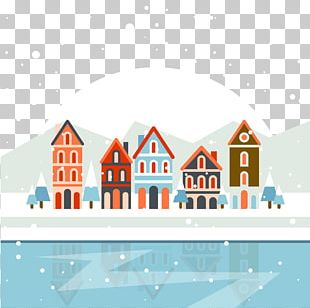 Christmas Village Poster PNG