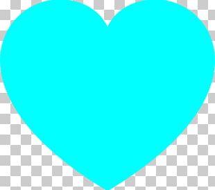 Light Blue Heart PNG