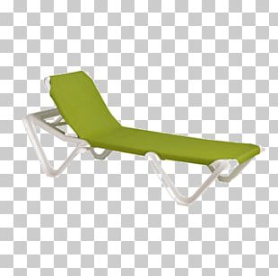 Chaise Longue Chair Sling Table Furniture PNG