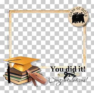 Digital Scrapbooking Graduation Ceremony PNG