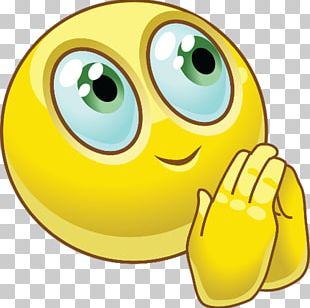 Emoji Praying Hands Prayer Smiley Emoticon PNG