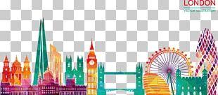 Skyline Silhouette Illustration PNG