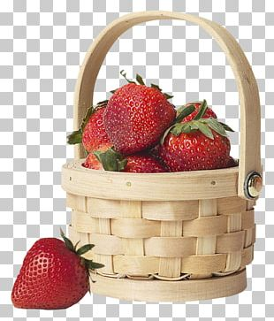 Strawberry Fruit Eating Basket Health PNG