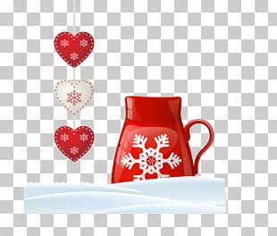 Coffee Cup Heart Love Valentines Day Cafe PNG