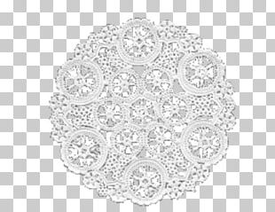 Doily Place Mats White PNG