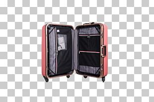 Suitcase Baggage Travel Airplane Hand Luggage PNG