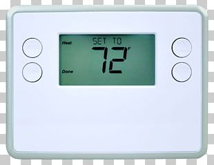 Smart Thermostat Z-Wave Home Automation Kits Programmable Thermostat PNG