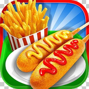 French Fries Street Food Maker PNG