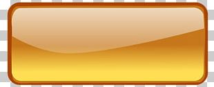 Orange Gradient Button With Border PNG