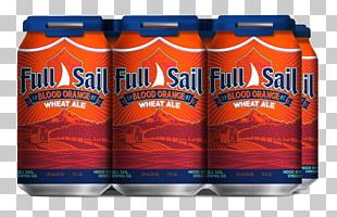 Orange Soft Drink Wheat Beer India Pale Ale Full Sail Brewing Company PNG