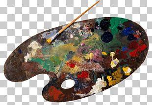 Palette Watercolor Painting Oil Paint PNG