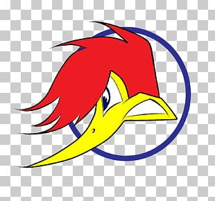Woody Woodpecker Racing Logo PlayStation PNG