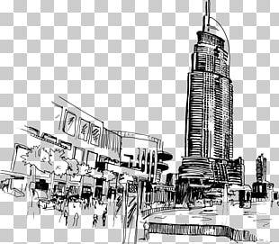 Dubai Drawing PNG