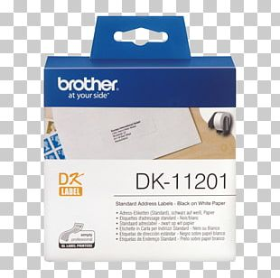 Paper Label Printer Brother Industries Adhesive Tape PNG