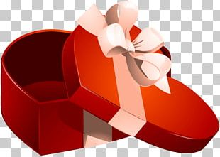 Valentine's Day Gift Decorative Box Heart PNG