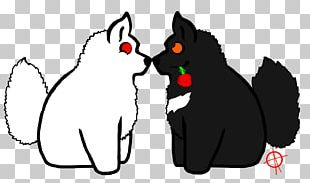 Whiskers Kitten Black Cat Dog PNG