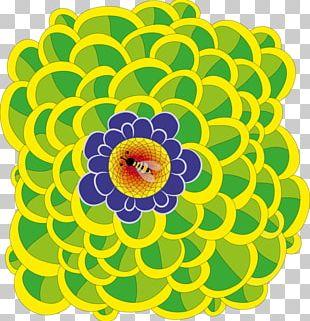 Floral Design Cut Flowers Chrysanthemum Pattern PNG