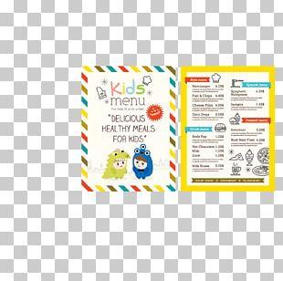 Menu Kids Meal Cooking Restaurant PNG