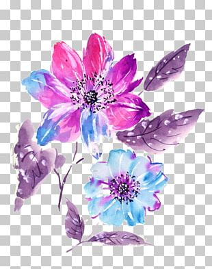 Floral Design Watercolor Painting Watercolour Flowers PNG