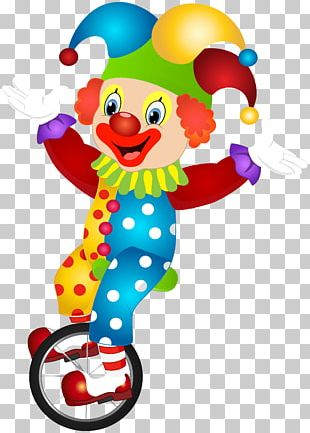 Clown Stock Photography PNG