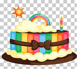 Birthday Cake Cupcake Frosting & Icing Chocolate Cake PNG