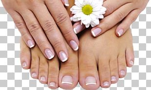 Foot Pedicure Manicure Gel Nails PNG