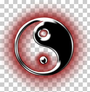 Yin And Yang Symbol Digital Art PNG