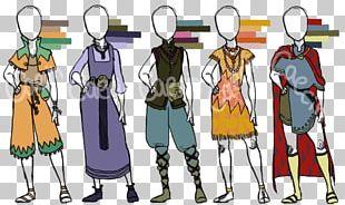 Costume Design Fashion Design Cartoon PNG