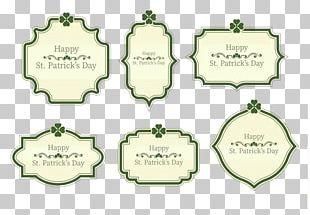 Text Saint Patricks Day PNG