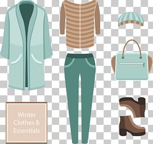 Winter Outerwear Coat PNG