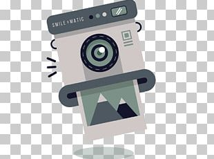 Polaroid Corporation Instant Camera PNG