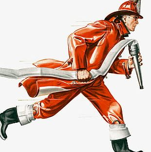 Fire Officers And Soldiers Illustrations PNG