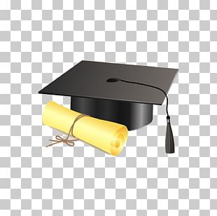 Square Academic Cap Graduation Ceremony Diploma PNG