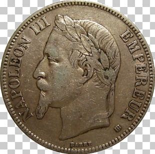 Second French Empire France Coin French Franc First French Empire PNG