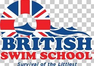Logo British Swim School Graphic Design DuPage County PNG