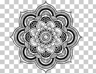 Mandala Coloring Book Hinduism Drawing PNG
