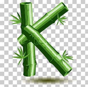 Letter Bamboo K Graphics Euclidean PNG
