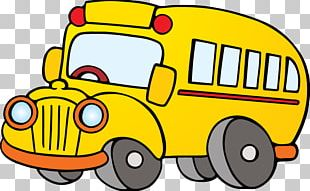 School Bus Animation PNG