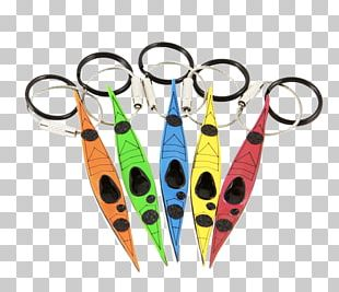 Sea Kayak Canoe Paddle Key Chains PNG