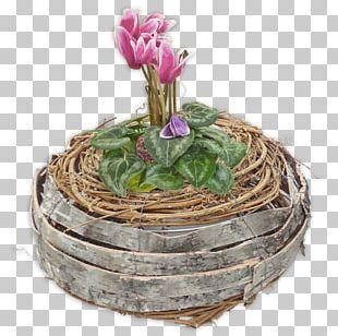 Floral Design Flowerpot PNG