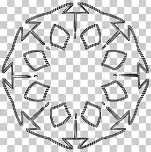 Rose Window Stained Glass PNG