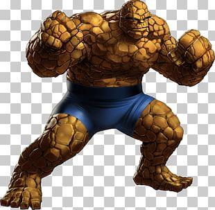 Marvel: Avengers Alliance Thing Marvel Comics Fantastic Four Marvel Universe PNG